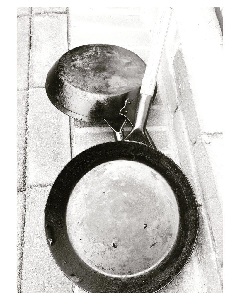gietijzeren pannenkoekenpan