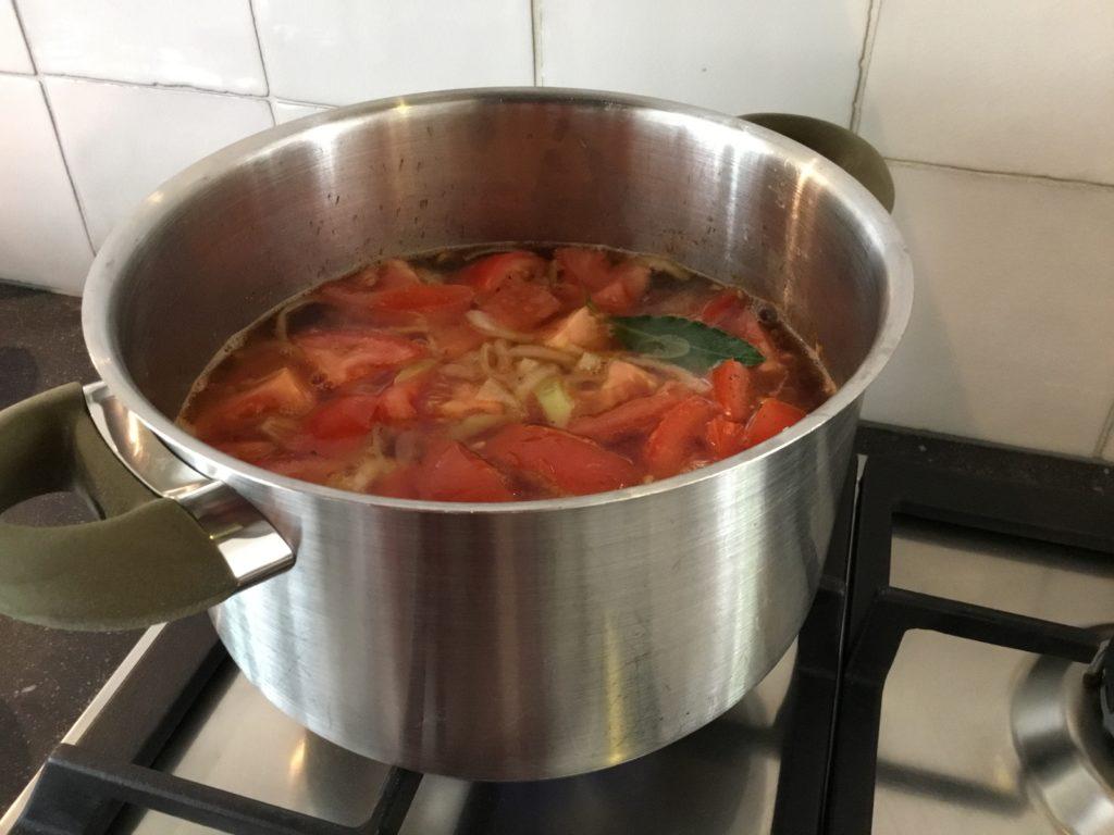 recept Italiaanse tomatensoep