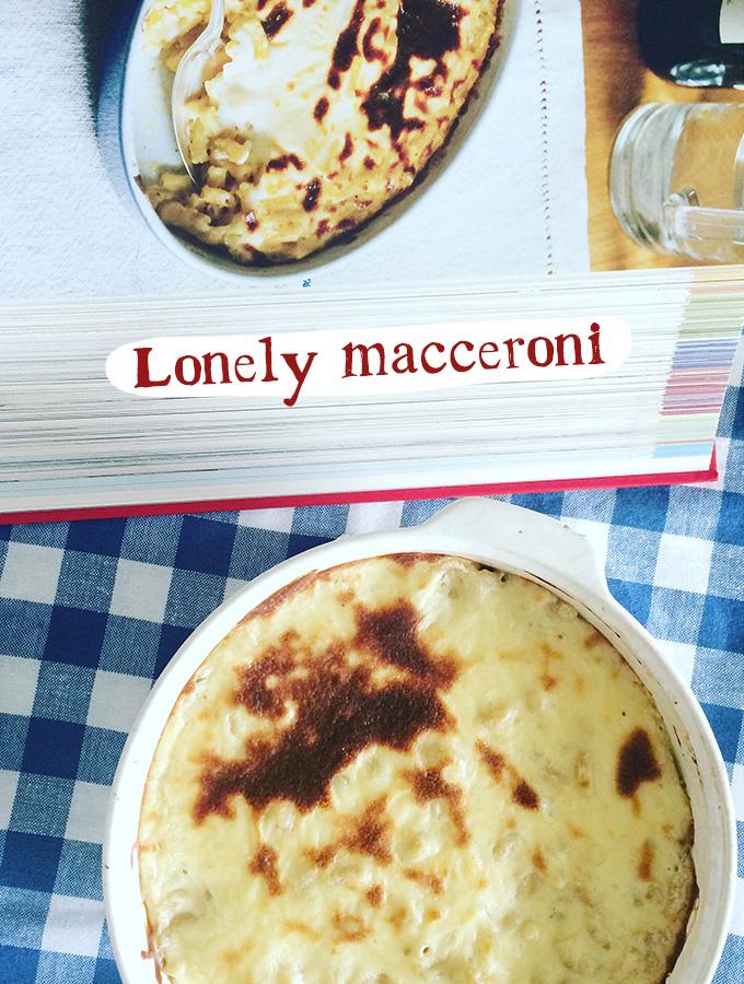 Lonely macceroni
