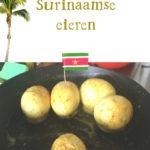 Surinaamse eieren kerrie massala