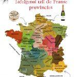 De Franse culinaire provincies