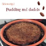 Pudding met dadels