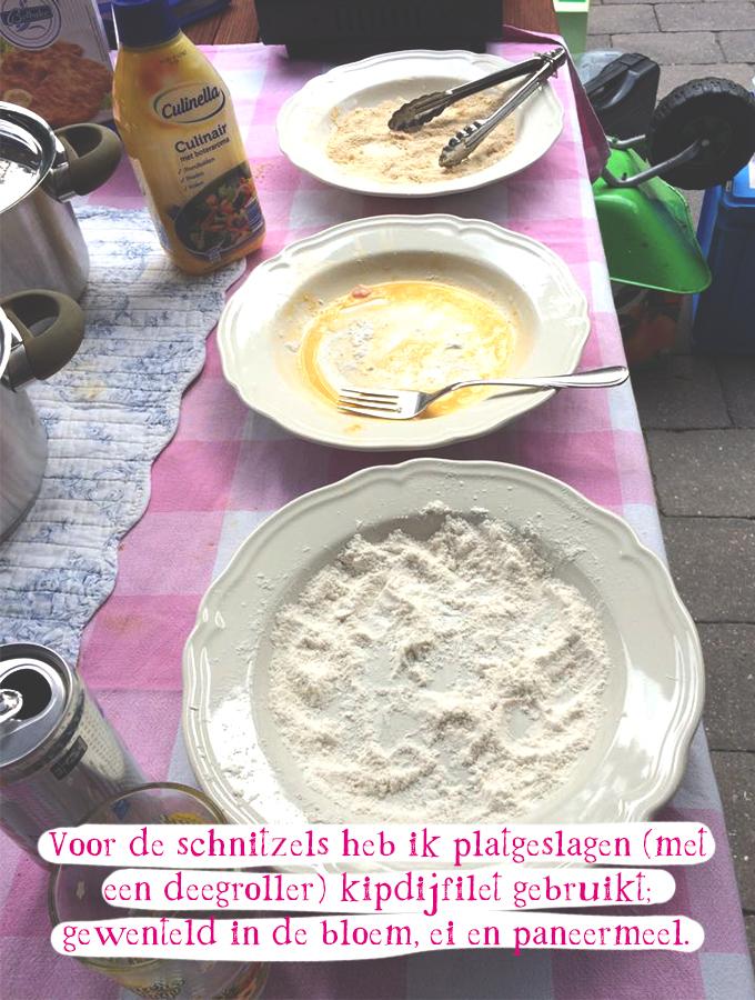Zelf schnitzels maken