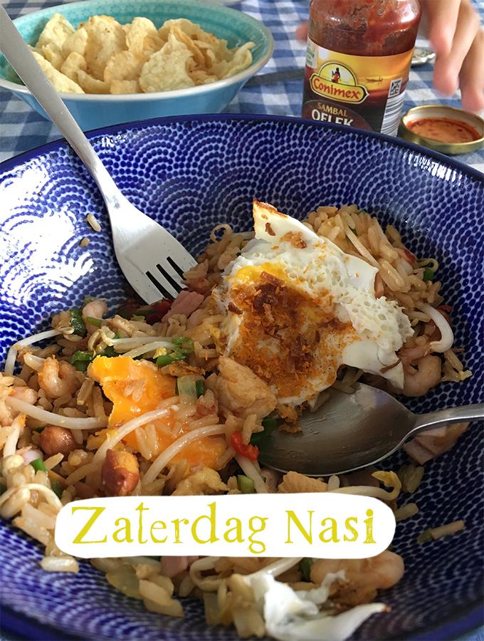 Zaterdag Nasi