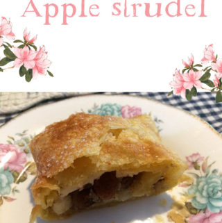 Apple strudel recept