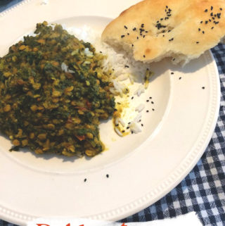 Dahl met spinazie recept