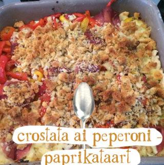 crostata ai peperoni - paprikataart recept