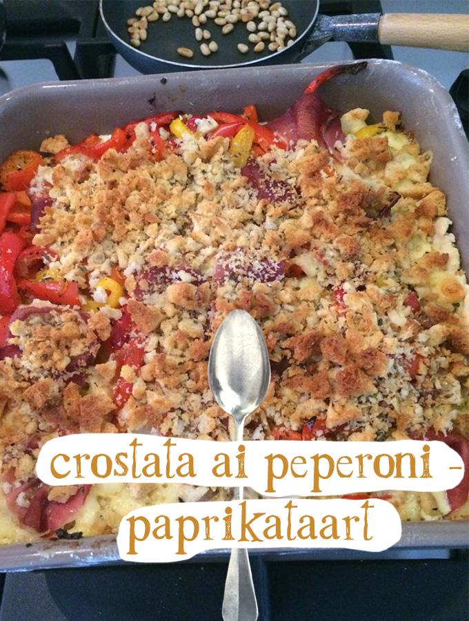 crostata ai peperoni - paprikataart