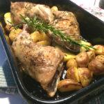 Kippenpoot met rozemarijn oven