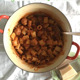 Rigatoni con Polettine recept