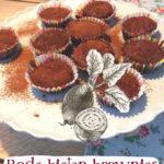 Rode bieten bownies recept