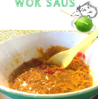 wok saus recept
