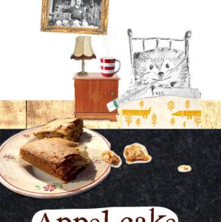 Appel cake recept mr Igel