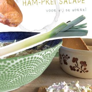 ham-prei salade recept