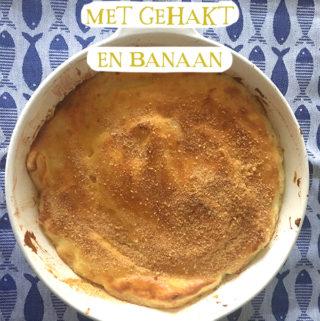 Zuurkoolschotel met gehakt en banaanZuurkoolschotel met gehakt en banaan recept