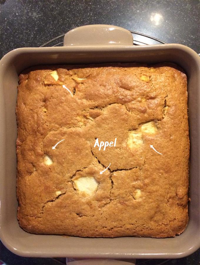 cake met appels