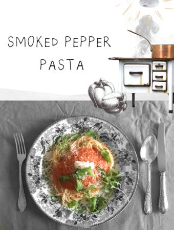 smoked pepper pasta recept