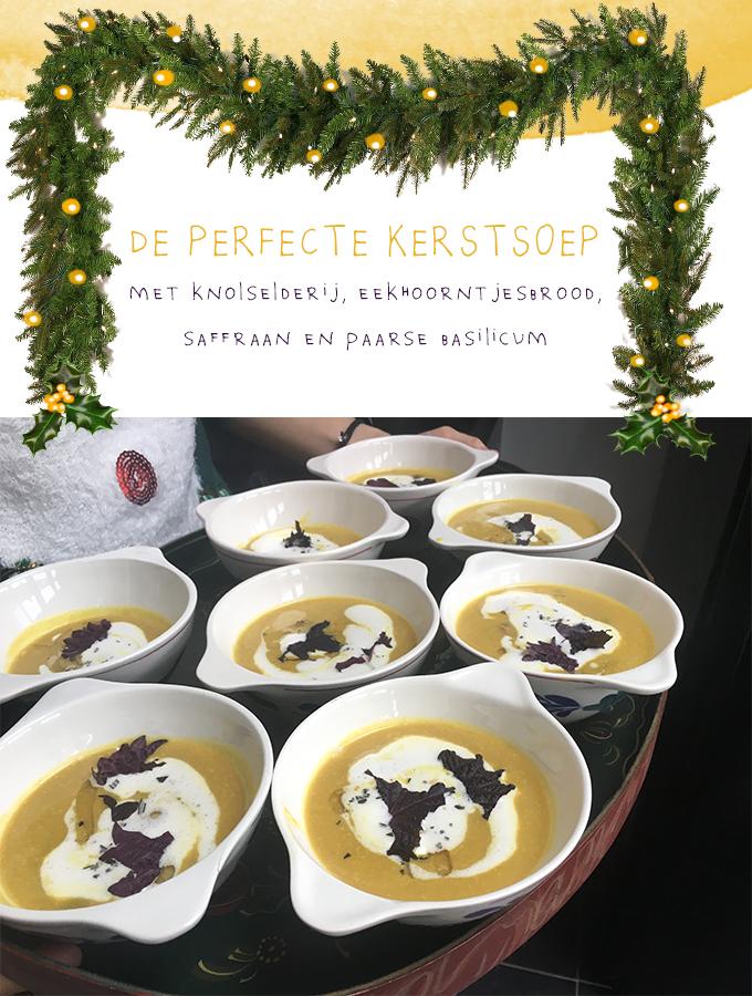 Knolselderij saffraansoep recept