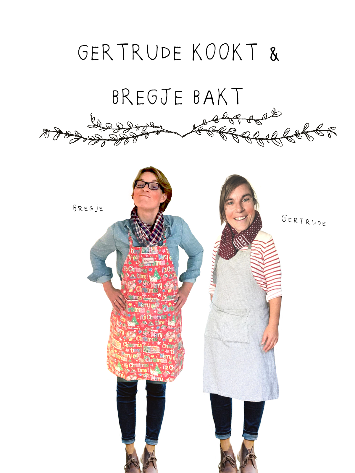 Gertrude kookt & Bregje bakt