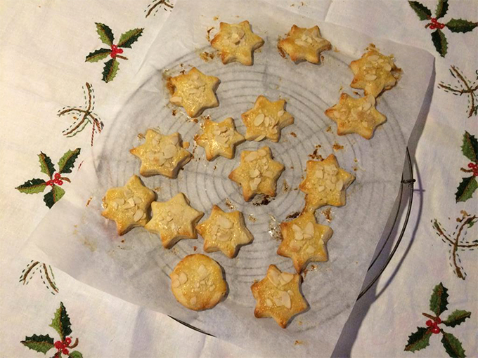 Kerststerren recept koekjes