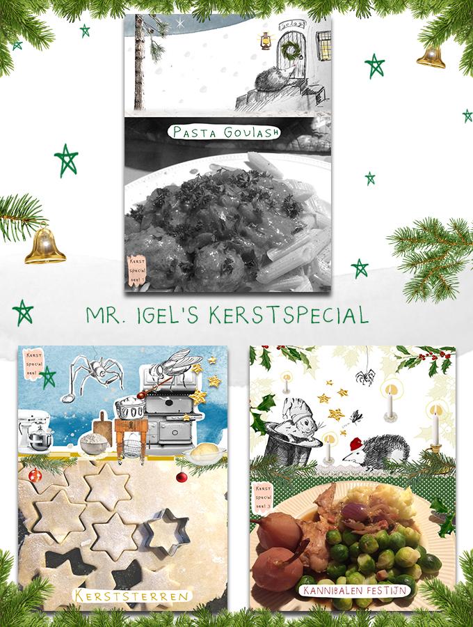 Kerstspecial Mr. Igel verhaal