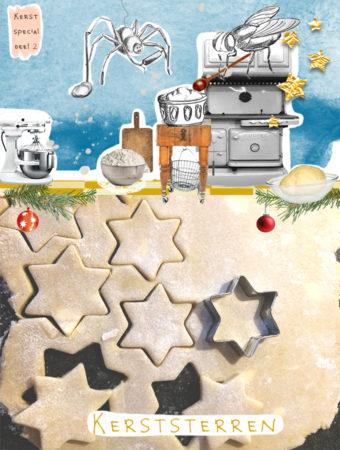 Kerststerren mr Igel koekjes recept