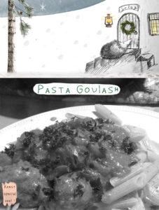 Hongaarse pasta goulash recept
