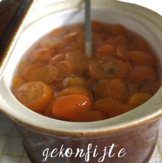 gekonfijte kumquat recept