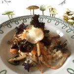 Risotto met pompoen en eekhoorntjesbrood