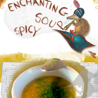 Enchanting spicy soup