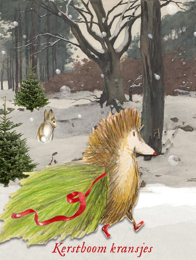 Kerstboom kransjes Mr Igel