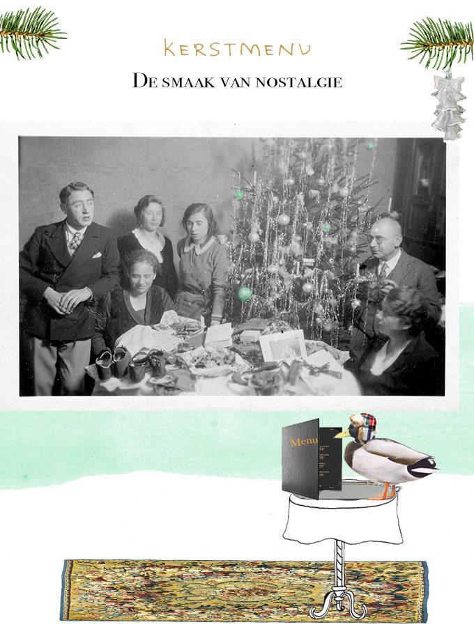 Kerstmenu 'De smaak van nostalgie'